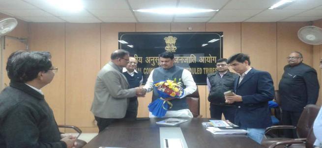Gujarat's tribal welfare minister Hon'ble Shri Ganpat Vasava