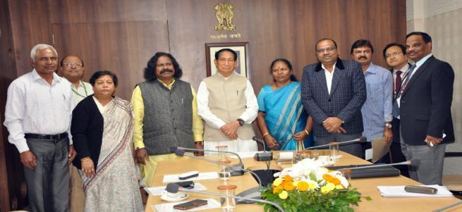 Hon'ble Governor of Odisha, Dr. S. C. Jamir