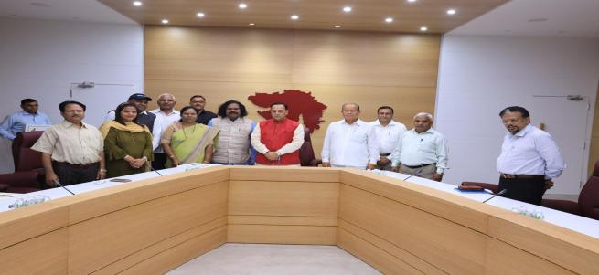 MEETING WITH HON'BLE Chief Minister of Gujarat