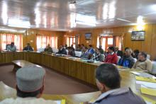 Visit to Koksar, Lahaul & Spiti on 15-5-2015