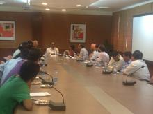 Workshop at chandigarh regarding reservation on 28-9-2015