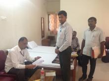 Visit to Chennai-Hyderabad on killing of tribals on 17-4-2015