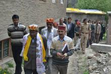 Visit to Himachal Pradesh visit of tribal area
