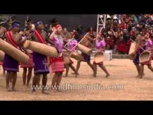 Embedded thumbnail for Garo tribal dancers from North-East India