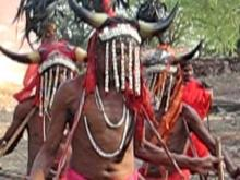 Embedded thumbnail for Original Tribal Dance in India